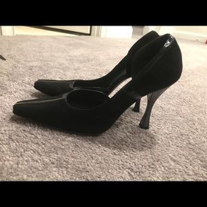 Made in Italy suede pumps size 38.5